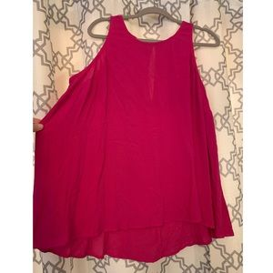 Old Navy Sleeveless Pink Flowy Top